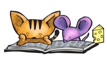Murphy-Cat-and-Mouse-Reading