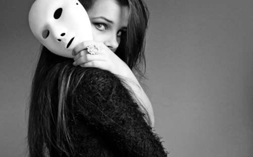 girl-mask-face-style-wallpaper